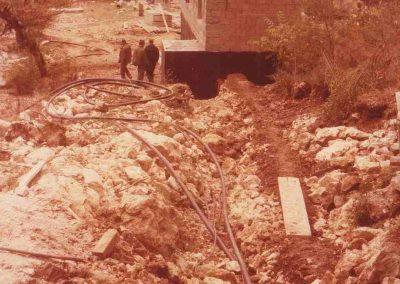1981. Изградња цевовода Таорска врела до Косјерића