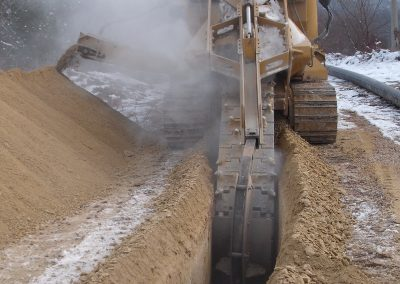 Реконструкција цевовода 2009. 11км од Таора до ППВ